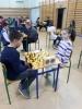 Zmagania podczas Powiatowego turnieju szachowego - Tuczno 2019